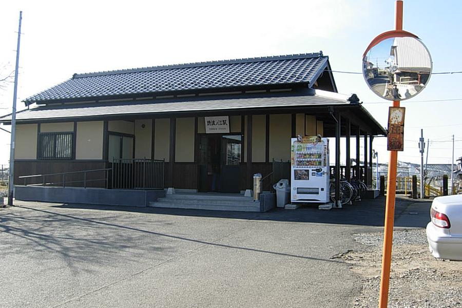 関東鉄道常総線・騰波ノ江駅